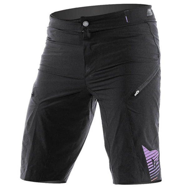 반바지 FLOW TECH SHORT Kale/Purple