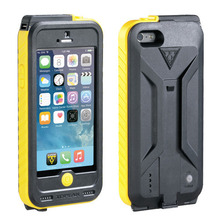 가방 Weatherproof Ridecase with Powerpack-BK/YE iPhone 5/5S