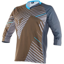 반팔상의 FLOW TECH JERSEY 3/4 KALE/ASP